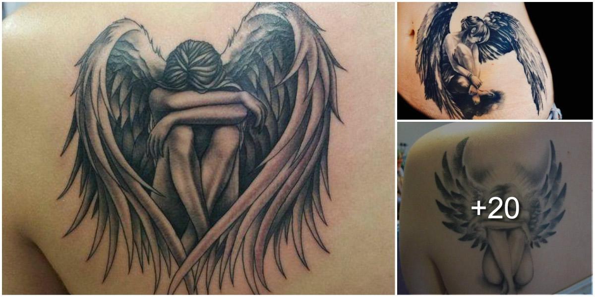 25 Ideas de Tatuajes de Angeles