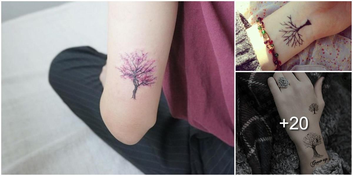 25 Ideas de Tatuajes con Árboles