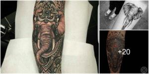 Tatuajes de elefantes y su significado