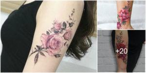 Ideas de Tatuajes con Flores o Rosas