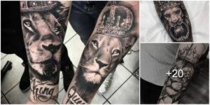 25 Ideas de Tatuajes con Leones