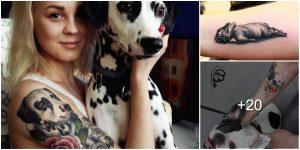 Tatuajes para amantes de los Perritos