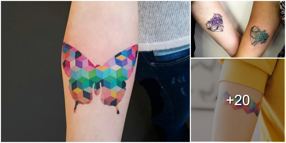 Tatuajes Geométricos + Acuarela