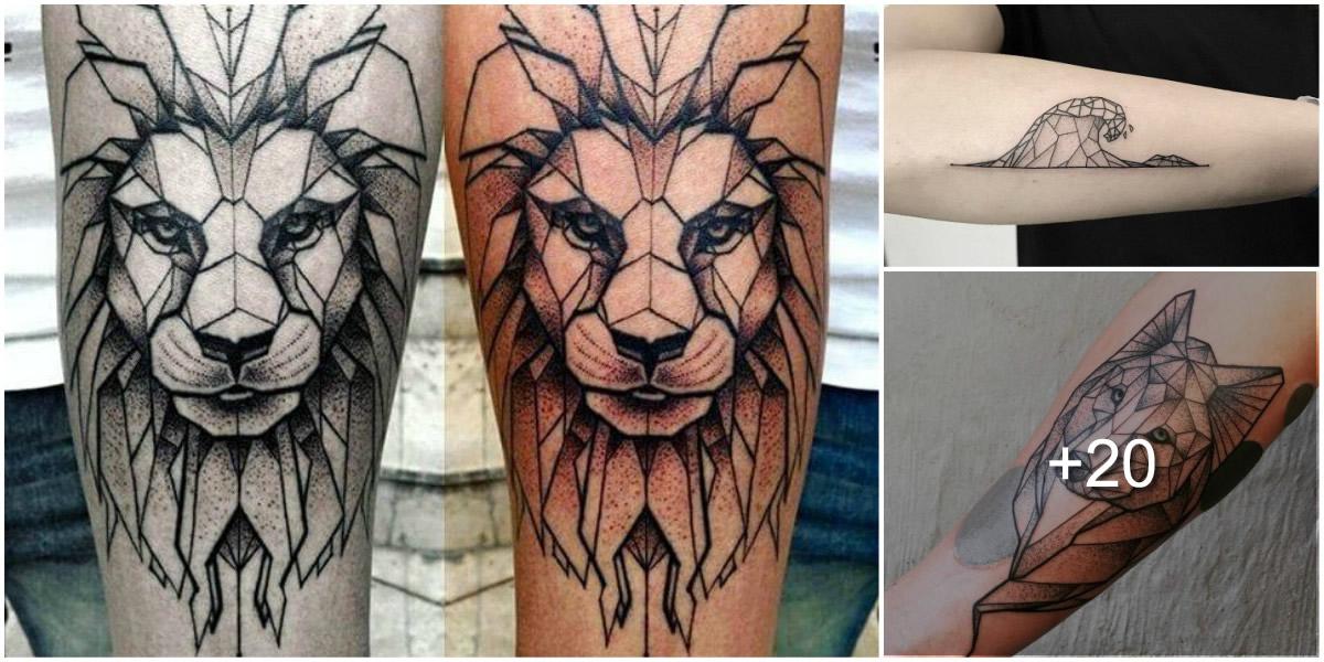Tatuajes Poly Geométricos
