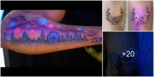 Tatuajes que brillan en la oscuridad