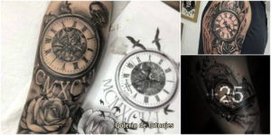 Ideas originales de Tatuajes de Relojes