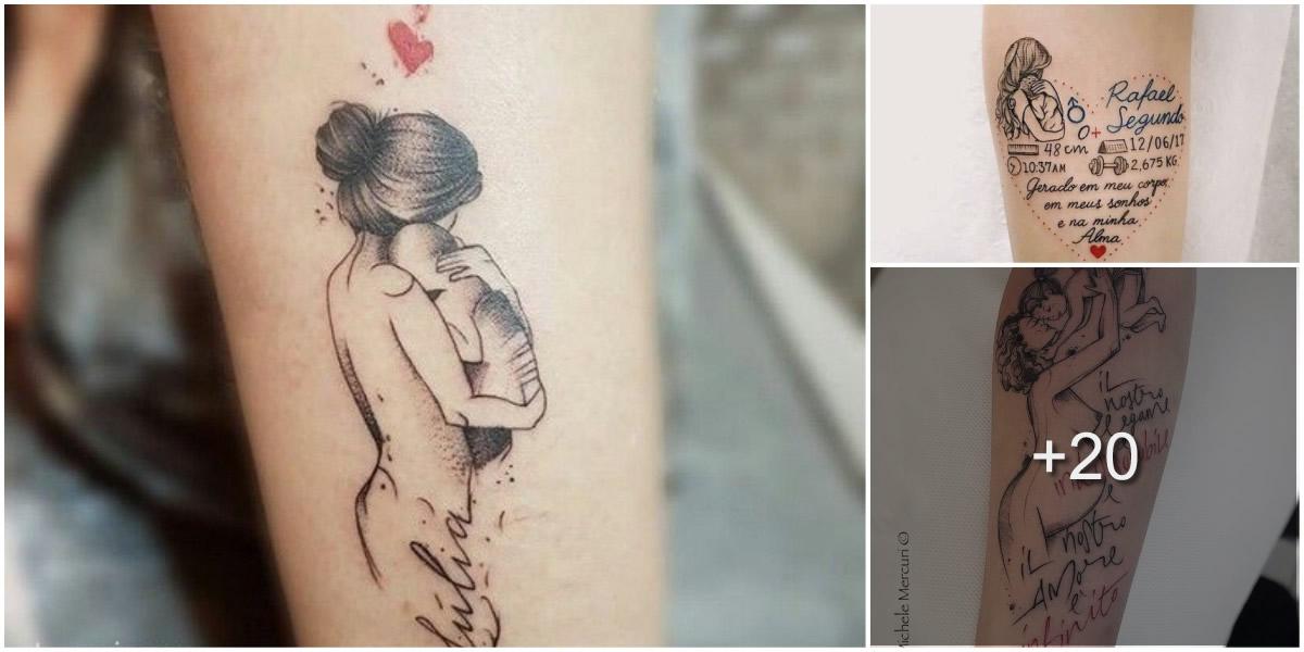 Tatuajes Inspirados en la Maternidad