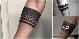 Tatuajes de Brazaletes para Hombres