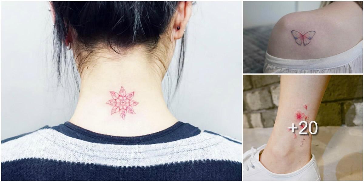 Coloridos Tatuajes para Chicas