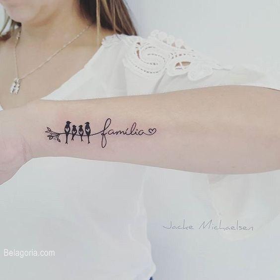 553ef2ba86755130bd7dfbb5012461be 30 Diseños de Tatuajes en Honor a la Familia