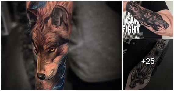 Ideas de Tatuajes con Lobos