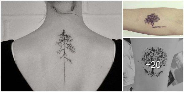 Tatuajes con Arboles