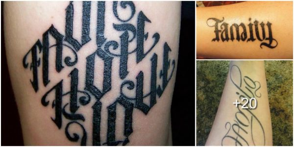 Tatuajes de Ambigramas