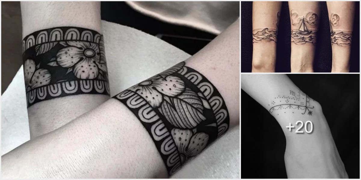 25 Tatuajes de brazaletes
