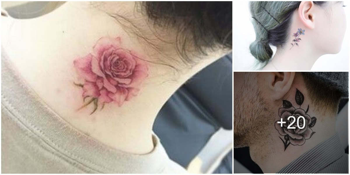 20 Lindos tatuajes en el cuello