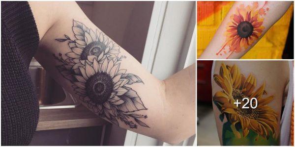 Tatuajes de girasoles y su significado