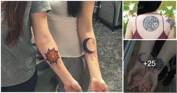 Tatuajes: Sol y Luna