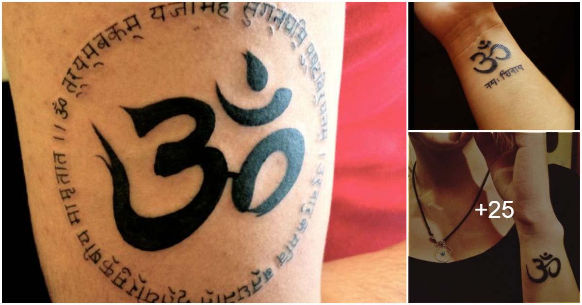 Tatuajes con el Símbolo de OM