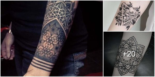 35 tatuajes geométricos
