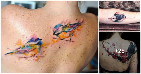Tatuajes de aves y su significado