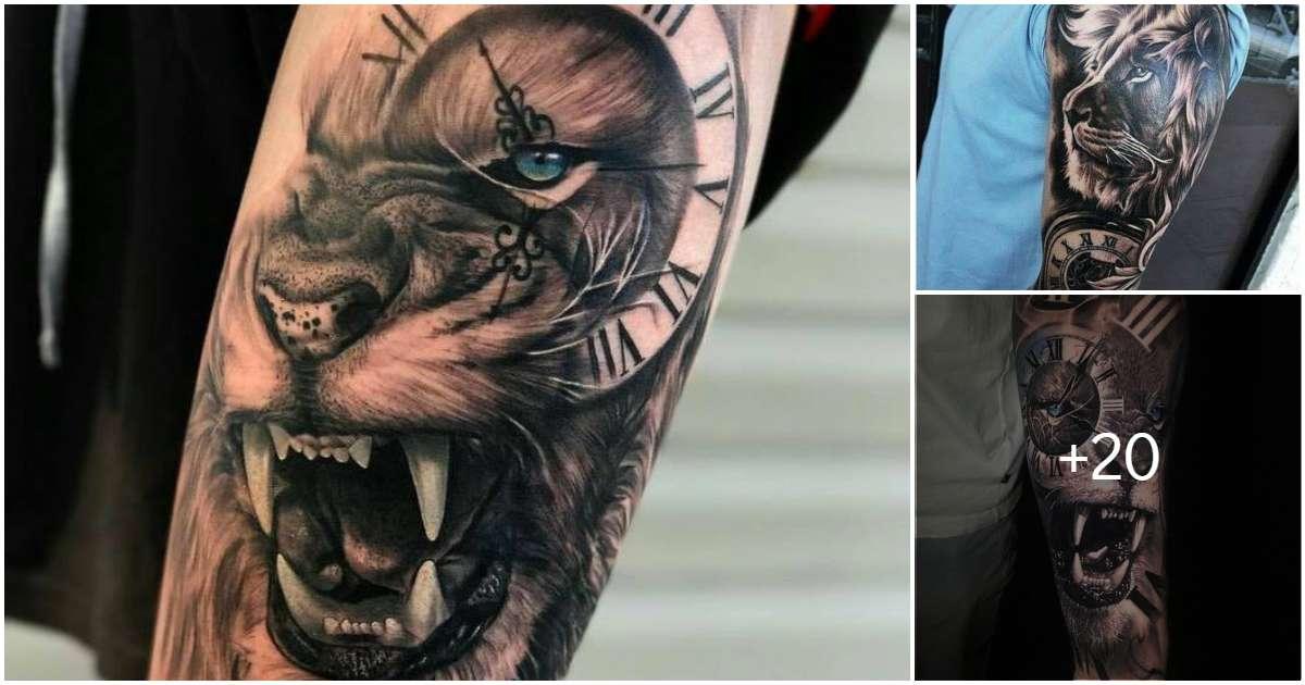 Tatuajes de leones: estilos y diseños