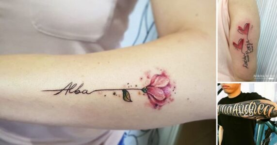 Lee más sobre el artículo 50 Diseños e Ideas de Tatuajes con Nombres