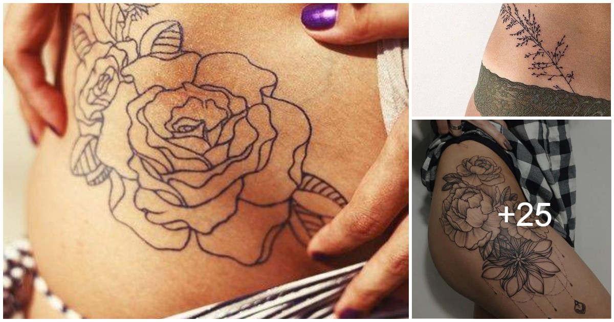 Ideas de tatuajes en la cadera
