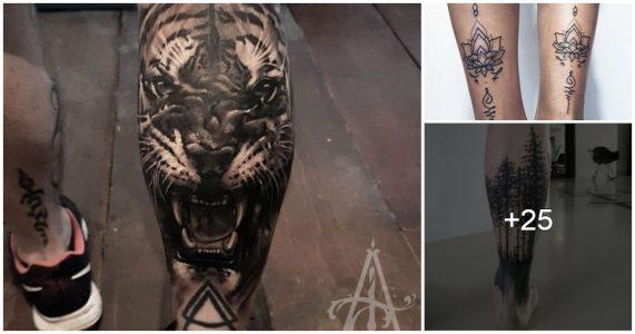 Tatuajes en Pantorrilla para Hombres