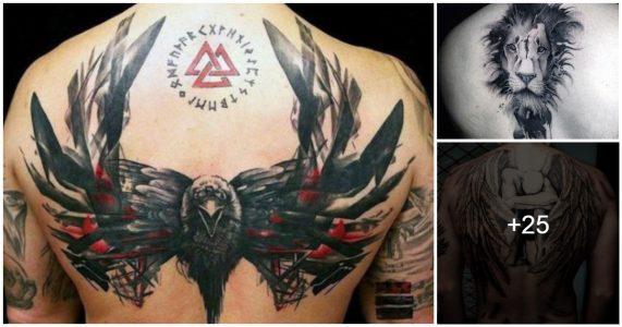 ideas de tatuajes en la espalda para hombres