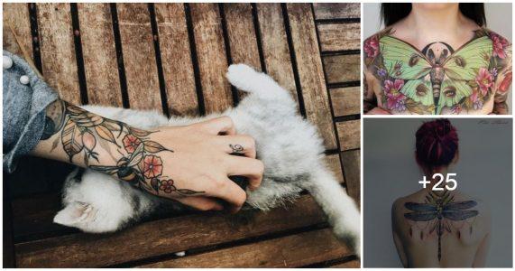 Tatuajes inspirados en la naturaleza