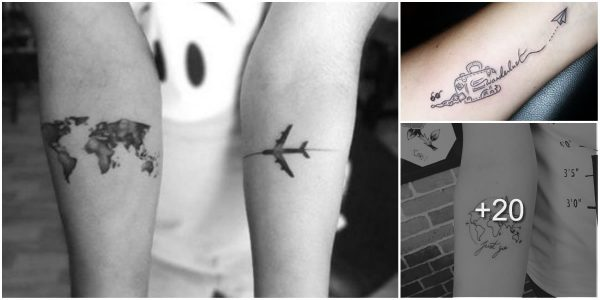 Tatuajes Inspirados en Viajes o Destinos