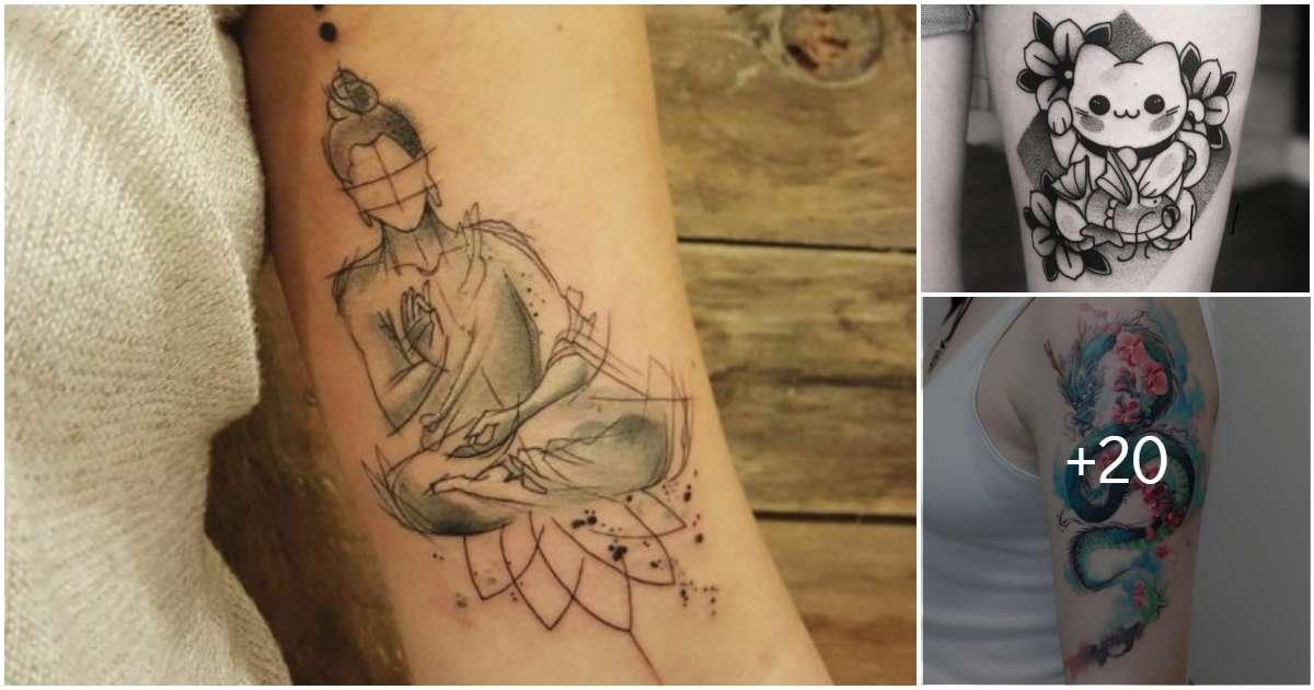 Tatuajes que traerán la buena fortuna y paz a tu vida