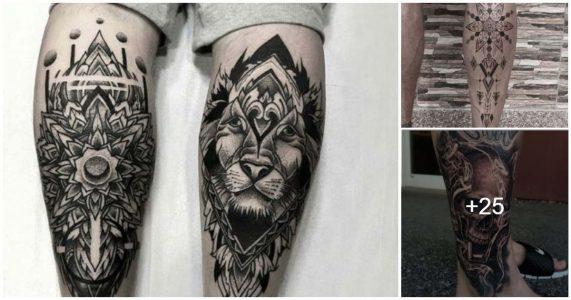Tatuajes en la pierna para hombres