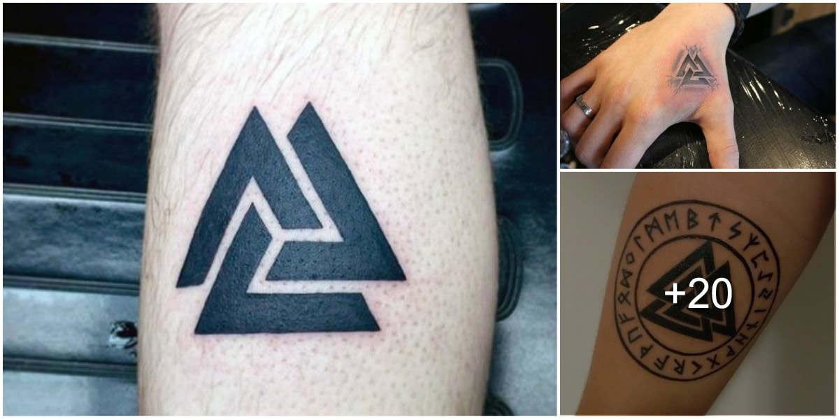 tatuajes valknut Los 7 tatuajes que dan mala suerte y que jamás deberías tatuarte